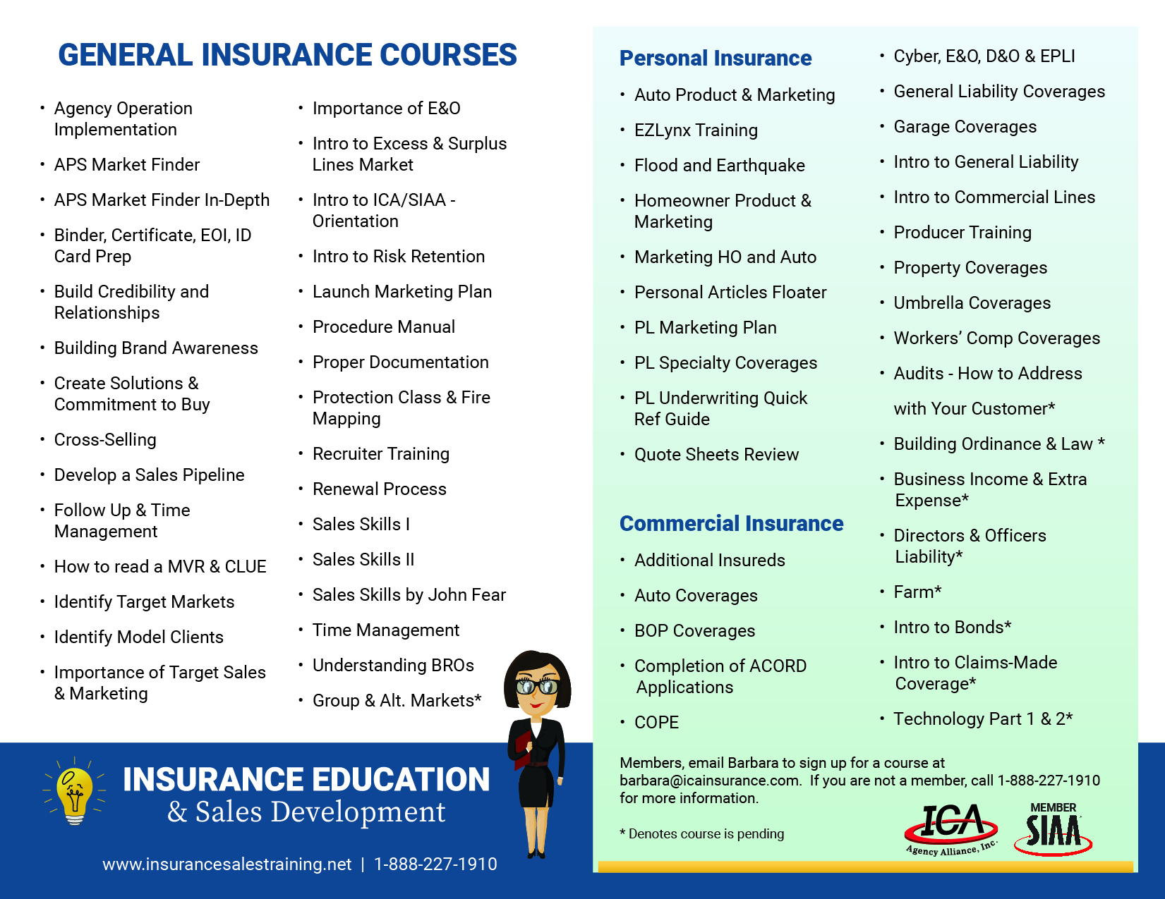 Insurance Education Courses